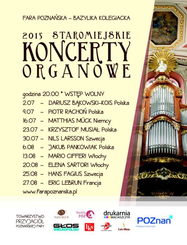 Ogl�dasz obraz z artyku�u: Staromiejskie koncerty organowe w farze pozna�skiej