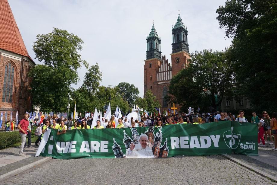 Oglądasz obraz z artykułu: ŚDM Poznań - foto