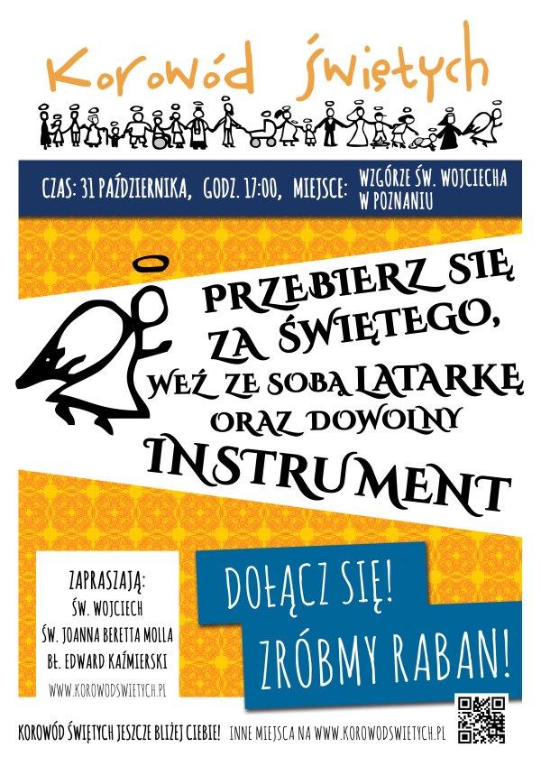 Ogl�dasz obraz z artyku�u: Korow�d �wi�tych w Poznaniu