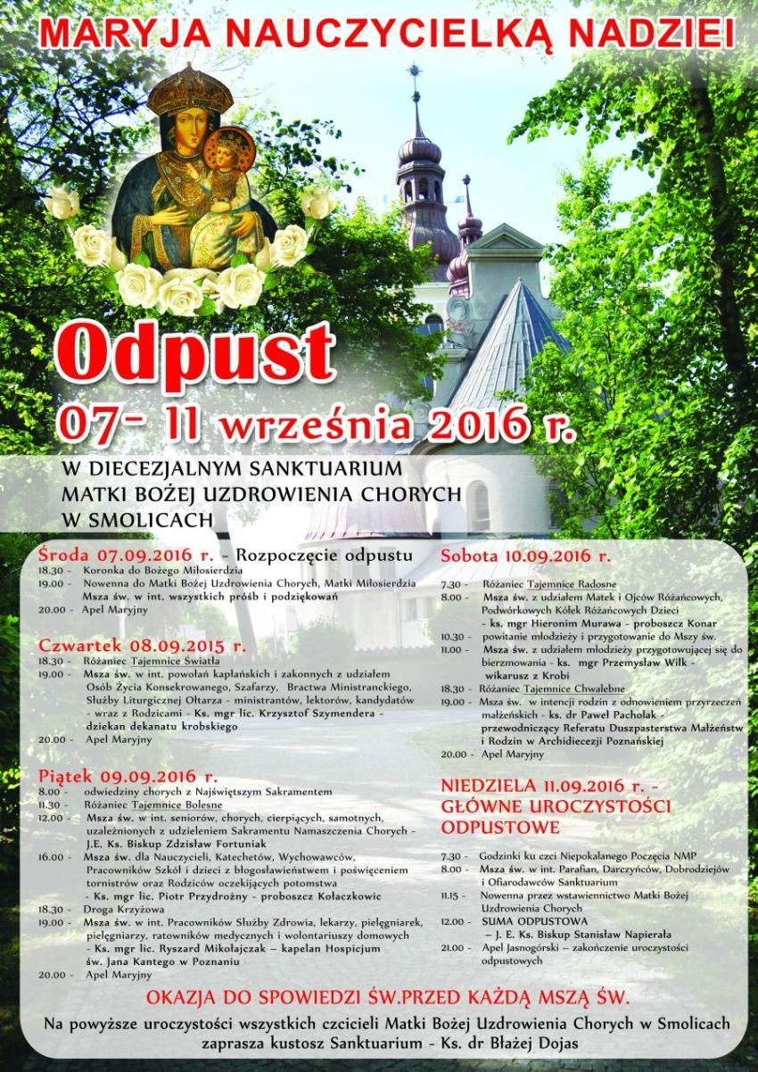 Ogl�dasz obraz z artyku�u: Odpusty Maryjne w Archidiecezji Pozna�skiej
