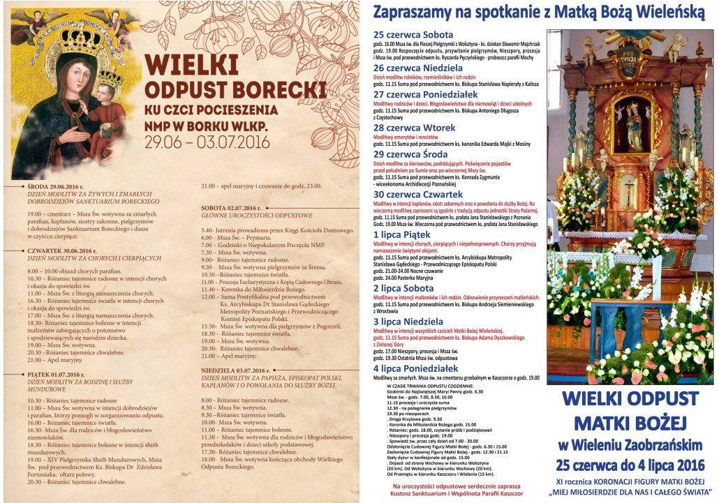Ogl�dasz obraz z artyku�u: Odpusty w Borku i w Wieleniu