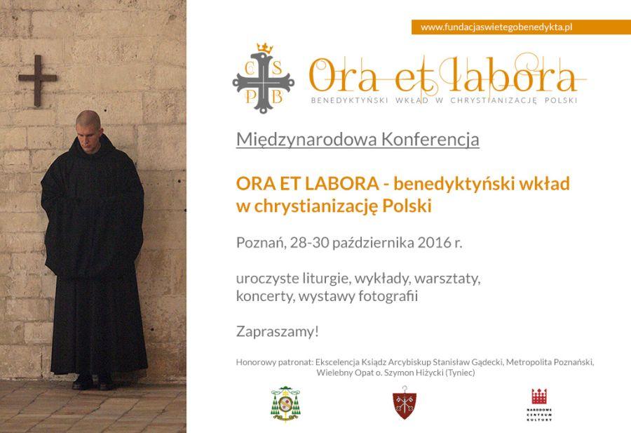 Oglądasz obraz z artykułu: Konferencja Ora et labora w 1050. rocznicę Chrztu Polski
