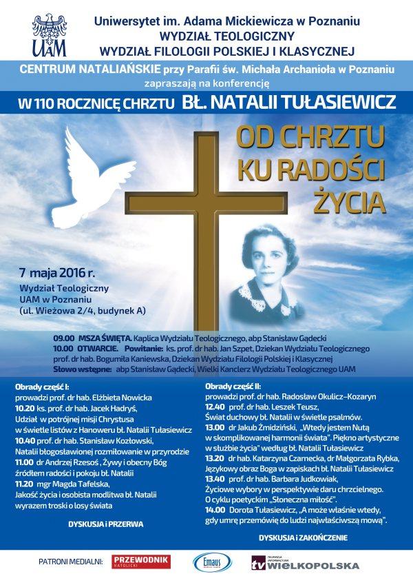 Ogl�dasz obraz z artyku�u: Konferencja naukowa o b�. Natalii Tu�asiewicz