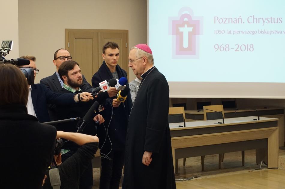 Oglądasz obraz z artykułu: Konferencje prasowe nt. jubileuszu 1050-lecia diecezji