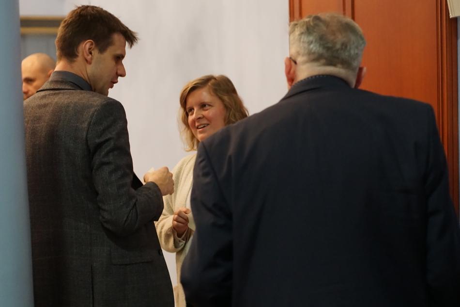Oglądasz obraz z artykułu: Spotkanie opłatkowe dziennikarzy