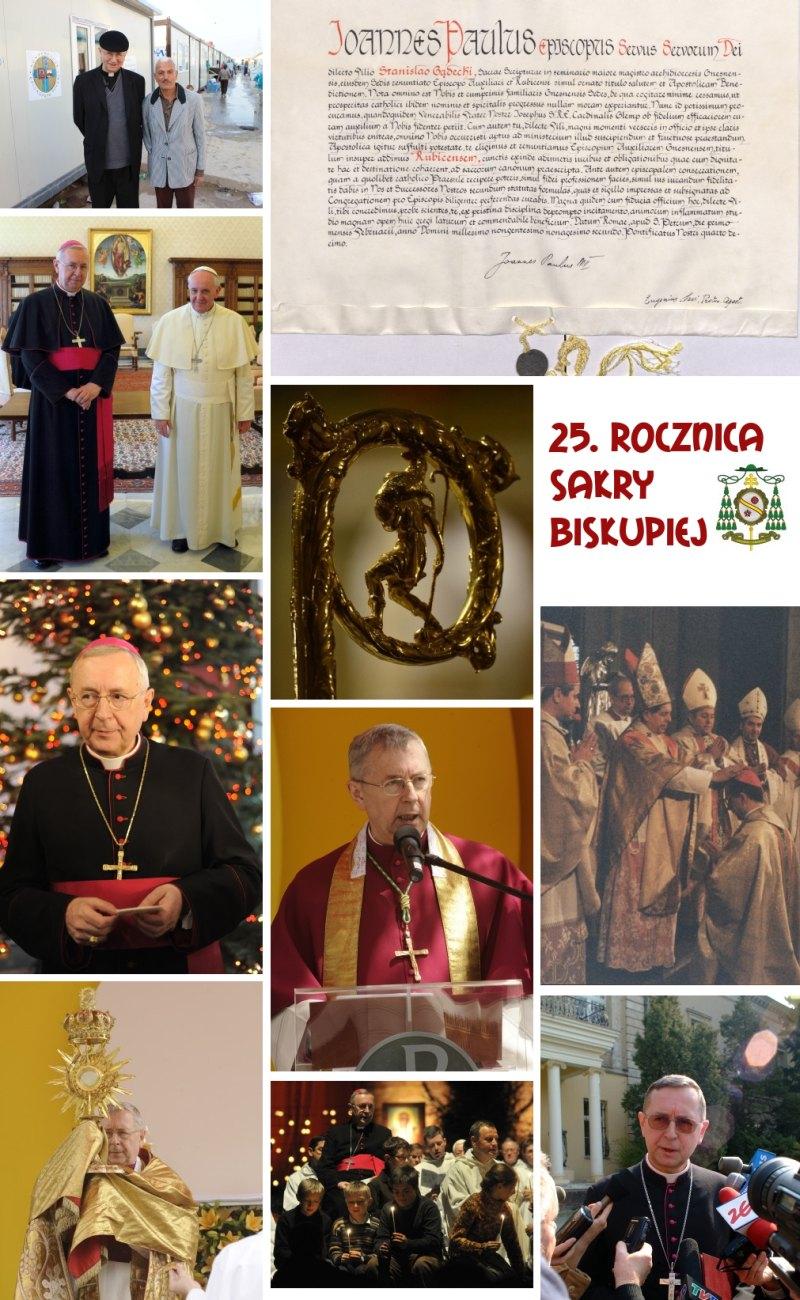 Oglądasz obraz z artykułu: 25. rocznica Sakry Biskupiej Arcybiskupa Stanisława Gądeckiego