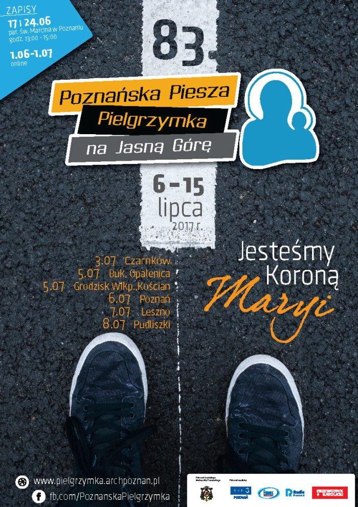 Oglądasz obraz z artykułu: 83. Poznańska Piesza Pielgrzymka na Jasną Górę