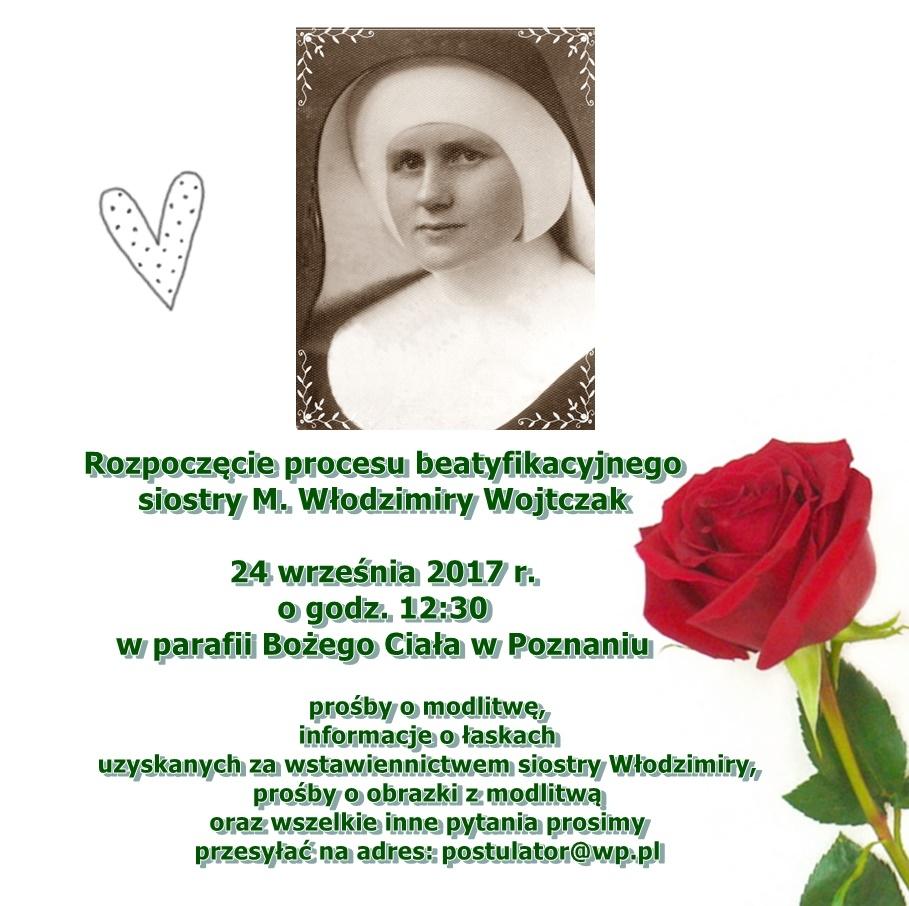 Oglądasz obraz z artykułu: Rozpoczęcie procesu beatyfikacyjnego Siostry Włodzimiry
