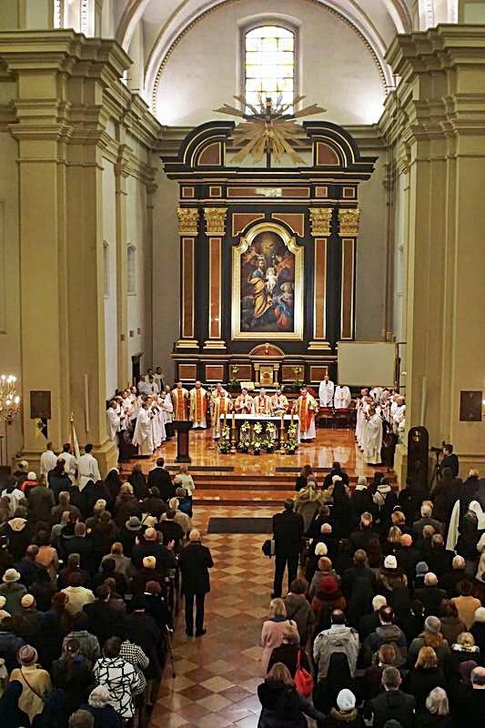 Oglądasz obraz z artykułu: Papież Franciszek przyznał tytuł Bazyliki Mniejszej sanktuarium w Poznaniu