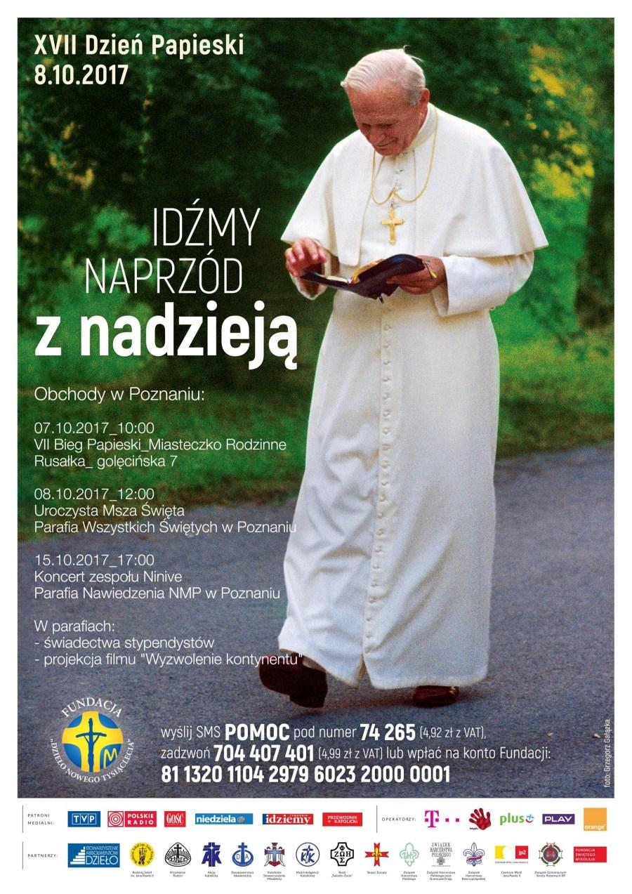 Oglądasz obraz z artykułu: XVII Dzień Papieski - Idźmy naprzód z nadzieją!