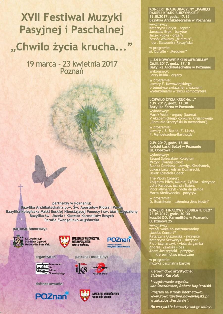 Oglądasz obraz z artykułu: XVII Festiwal Muzyki Pasyjnej i Paschalnej