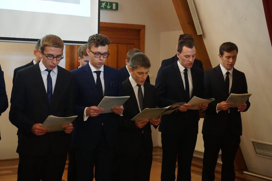 Oglądasz obraz z artykułu: Inauguracja roku formacyjnego w Arcybiskupim Seminarium Duchownym