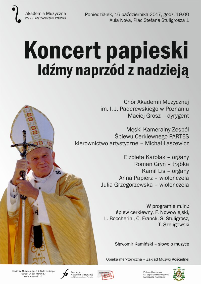 Oglądasz obraz z artykułu: Koncert papieski 'Idźmy naprzód z nadzieją'