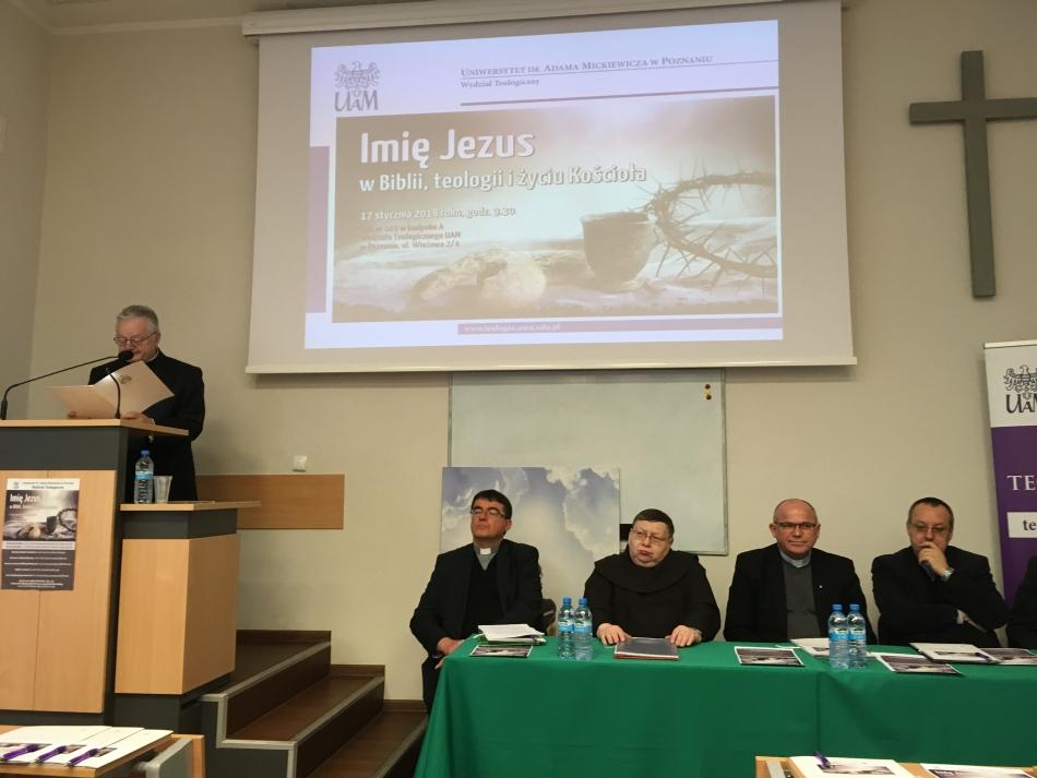 Oglądasz obraz z artykułu: Abp Gądecki: wobec braku nadziei głośmy Imię Jezus