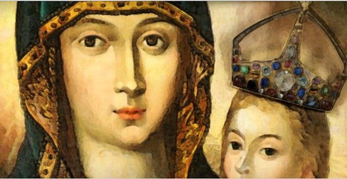 Oglądasz obraz z artykułu: Hymn do Matki Bożej Różańcowej