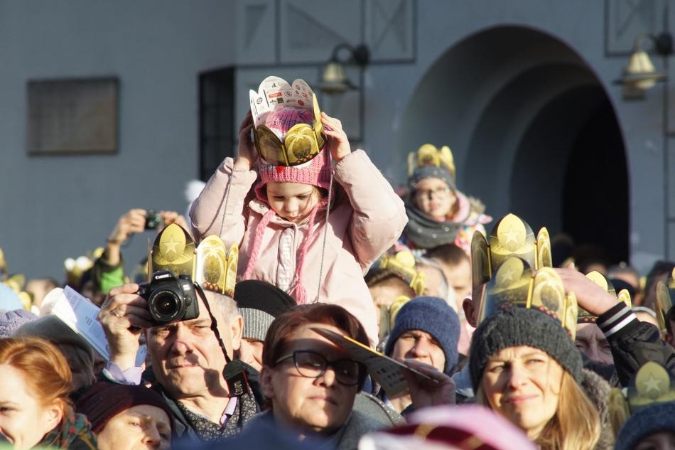 Oglądasz obraz z artykułu: Orszak Trzech Króli w Poznaniu