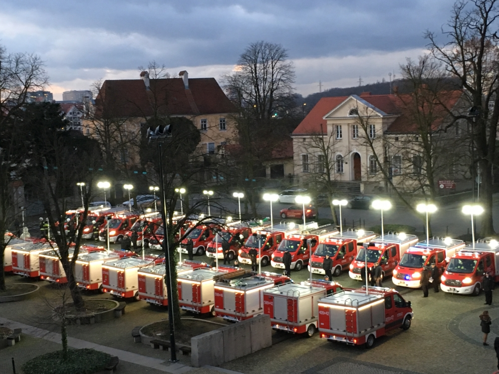 Oglądasz obraz z artykułu: Nowe wozy Ochotniczej Straży Pożarnej