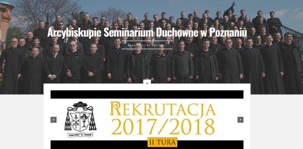Oglądasz obraz z artykułu: Arcybiskupie Seminarium Duchowne - rekrutacja, II tura