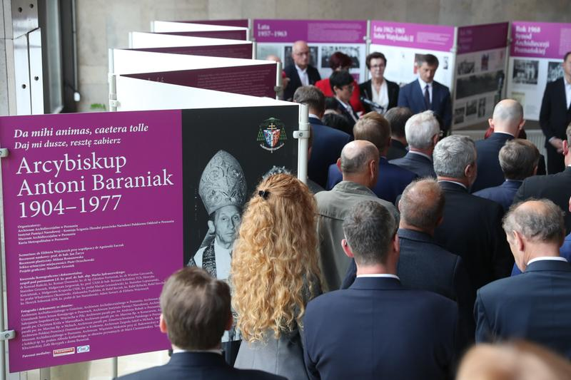 Oglądasz obraz z artykułu: Wystawa poświęcona abp. Antoniemu Baraniakowi w Sejmie RP