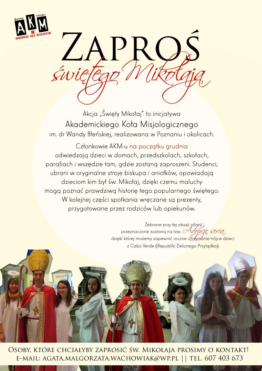 Oglądasz obraz z artykułu: Inicjatywa misyjna 'Święty Mikołaj'