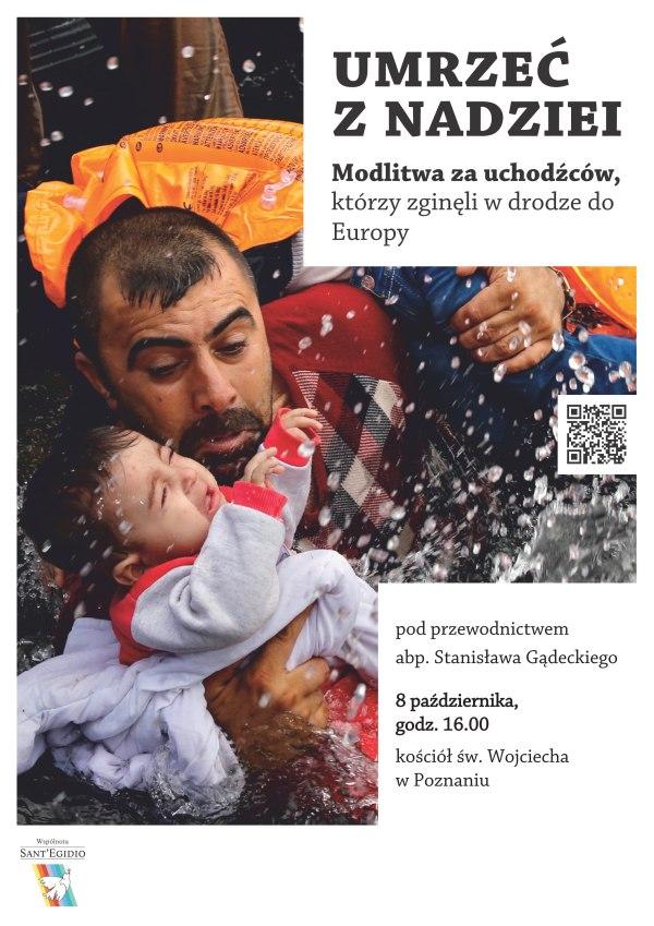 Oglądasz obraz z artykułu: Umrzeć z nadziei - poznańska modlitwa za uchodźców