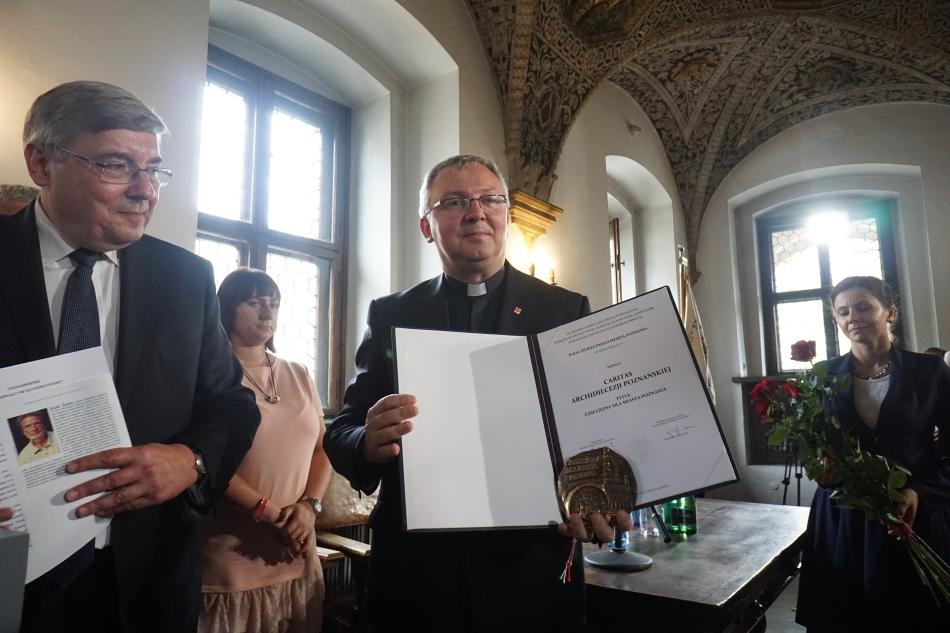 Oglądasz obraz z artykułu: Caritas Archidiecezji Poznańskiej - Zasłużeni dla Miasta Poznania