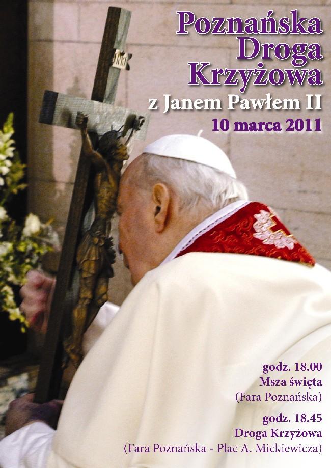 Oglądasz obraz z artykułu: Peregrynacja krzyża Jana Pawła II w Archidiecezji Poznańskiej