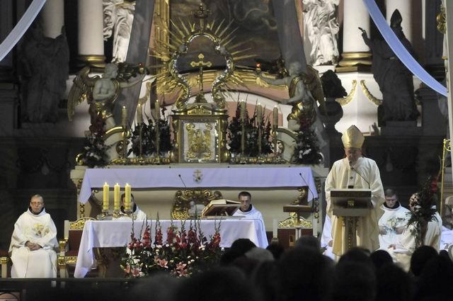 Oglądasz obraz z artykułu: Fotoreportaż z otwarcia nowej kaplicy Wieczystej Adoracji